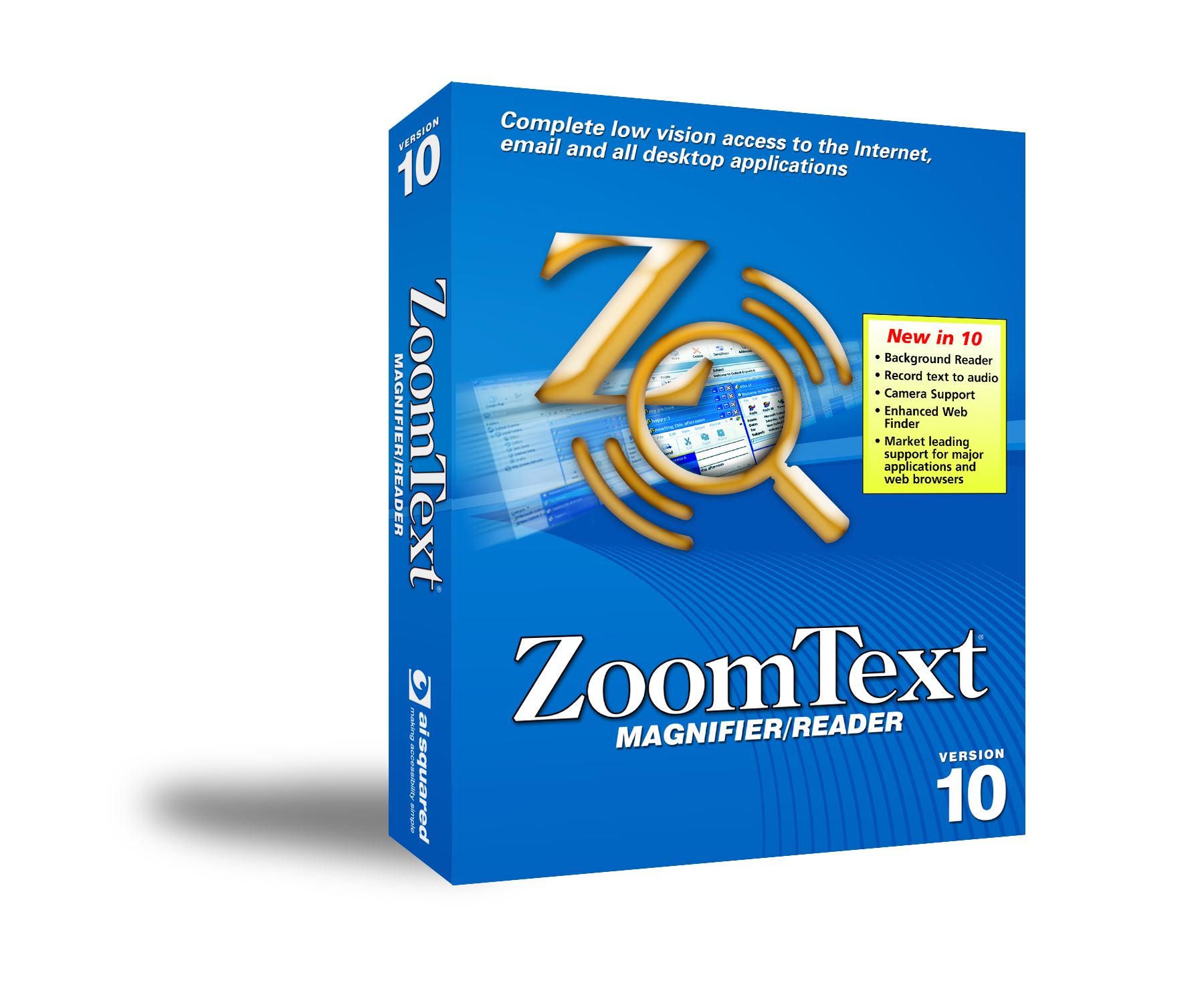Box shot of ZoomText Magnifier/Reader